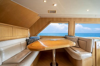 Four Reel 3 Dinette - Starboard View