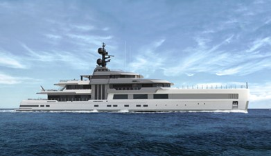 """75m Turquoise """"Barracuda"""" 2022 Delivery YACHT"""