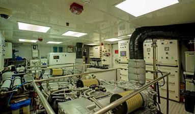 ANDREIKA  2017 ALPHA 106 AL FRESCO @ FLORIDA 38 Engine Room