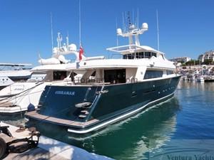 GIHRAMAR 5 GIHRAMAR 2001 CUSTOM LINE Navetta 30 Motor Yacht Yacht MLS #254423 5
