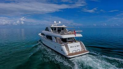 2016 Ocean Alexander 100 Skylounge Sea N Sea 1