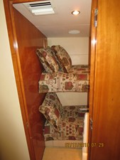 2002 60' Hatteras Convertible 3rd Stateroom/Crew Cabin