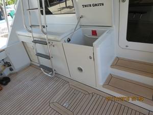 TRUE GRITS 58 2002 60' Hatteras Convertible Aft Deck