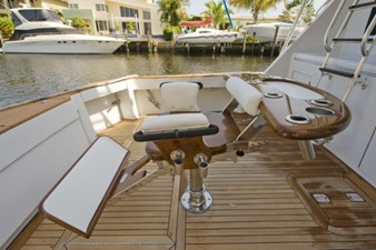 2002 60' Hatteras Convertible with Bluewater Fighting Chair