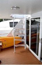 Aft Deck Boat Deck Stairs