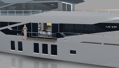 Numarine 45XP Hull #1 5