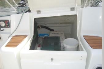 Windswept 40 Cockpit Storage port