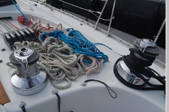 Windswept 45 Halyards, Sheets, winches