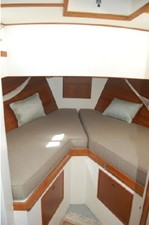 Stateroom- V-Berth, storage below