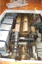 Engine, battery bank