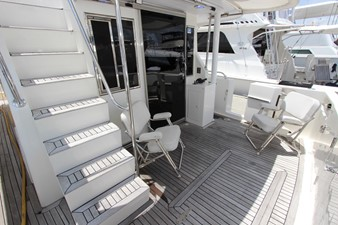 Cockpit and Flybridge Stairs