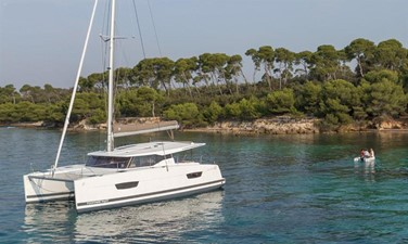 Clarity 4 2017 Fountaine Pajot 40 - For Sale in the SE USA