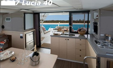 Clarity 15 2017 Fountaine Pajot 40 - For Sale in the SE USA