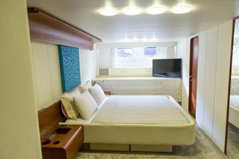 Enigma Blue for Sale - full beam master cabin