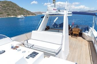Enigma Blue for Sale - sun deck