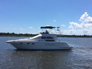 1998 Sealine F44 Flybridge Cruiser Motor Yacht
