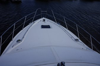 foredeck on F44 sealine