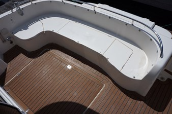 1998 Sealine F44 Flybridge Cruiser Motor Yacht cockpit seating