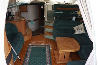 main salon on F44 sealine