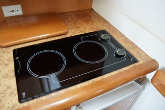 twin burner cooktop