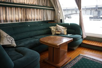 main salon starboard sofa