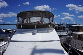 flybridge with all new canvas