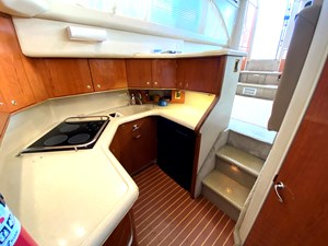 lots of galley counters and cabinets