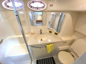 ensuite with shower, sink, head
