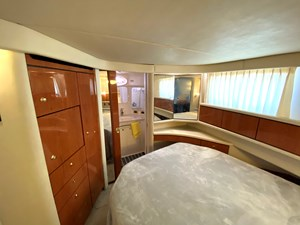 large aft cabin with ensuite