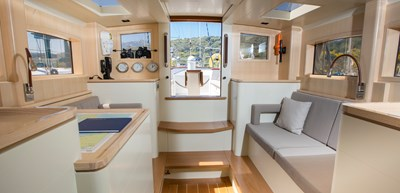 deckhouse looking aft