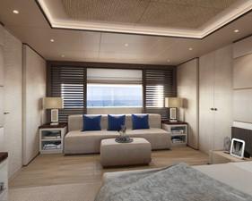 Master Stateroom - Contemporary Interior