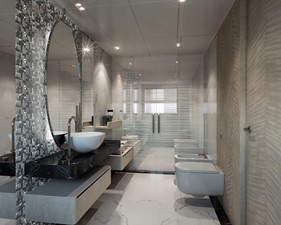Master Bath - Contemporary Interior