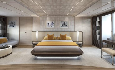 Master Stateroom - Modern Interior