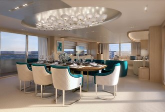 Dining Salon - Classic Interior