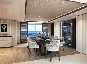 Dining Salon - Contemporary Interior