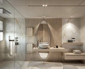 Master Bath - Modern Interior