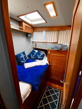 Port side double cabin aft berth