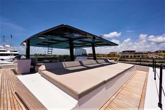 Flybidge Sunpad Lounge
