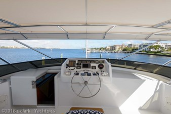 Flybridge Helm and Electronics