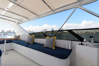 Flybridge Port Seating