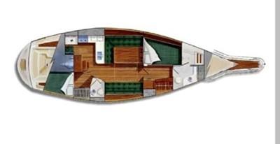 Topaz 1 Topaz 2001 CALIBER YACHT GROUP 40 LRC Cruising Sailboat Yacht MLS #256490 1