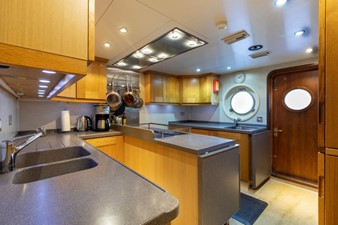 SCOUT II 35 Galley Looking Outboard