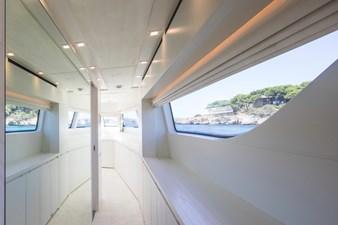 Corridor to master cabin