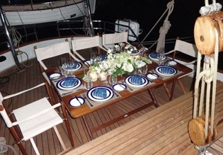 Dining on deck 2