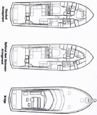 No Name 5 No Name 2003 HATTERAS 54 Convertible Sport Fisherman Yacht MLS #256641 5