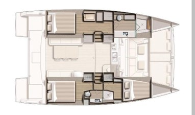 Bali 4.1 5 Bali 4.1 2020 CATANA Bali 4.1 Catamaran Yacht MLS #256681 5