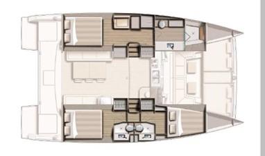 Bali 4.1 6 Bali 4.1 2020 CATANA Bali 4.1 Catamaran Yacht MLS #256681 6