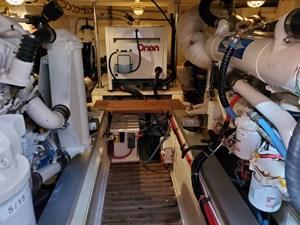 Twin Cummins engines, Onan generator
