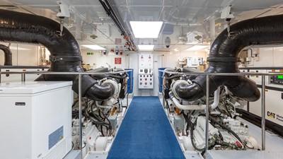 142' Richmond 2008/2019 ENGINE ROOM