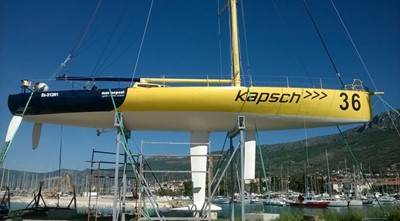 AUSTRIA ONE 6 AUSTRIA ONE 1995 GARCIA SHIPYARD Imoca 60 Racing Sailboat Yacht MLS #257077 6